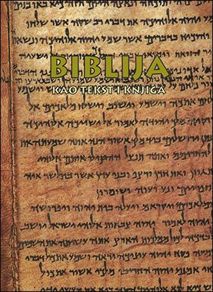 BIBLIJA KAO TEKST I KNJIGA – katalog izložbe