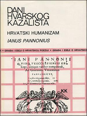 DANI HVARSKOG KAZALIŠTA XVI: HRVATSKI HUMANIZAM — IVAN ČESMIČKI / IANUS PANNONIUS