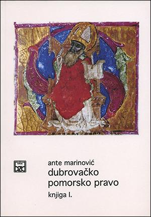 DUBROVAČKO POMORSKO PRAVO, knjiga I